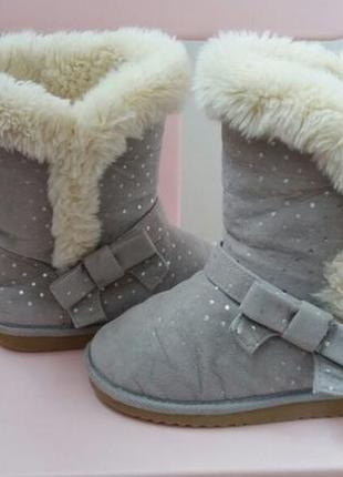 Стильные зимние тёплые сапоги на меху угги uggs