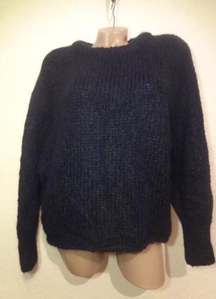 Объёмный свитер оверсайз крупной вязки от zara размер s