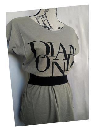 Женская удлиненная футболка