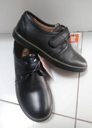 Кожа шикарні шкіряні спортивні туфлі фірми kangfu