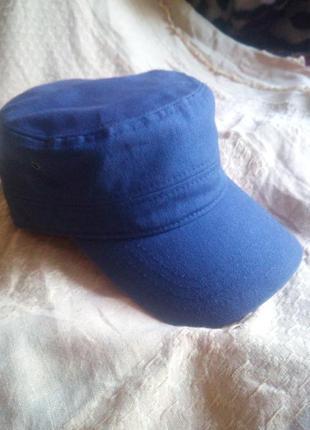 Военная кепка милитари, фасон немка, унисекс, коттон, хб, размер один на велкро