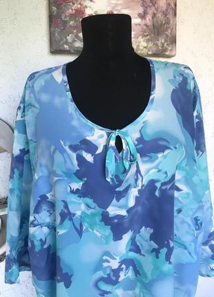 Блуза солидного размера
