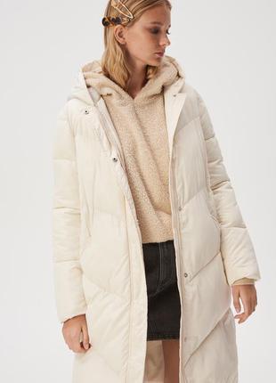 Куртка пуховик пальто стеганное sinsay