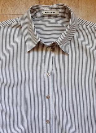 Идеальная рубашка more&more (хлопок+эластан), р.36