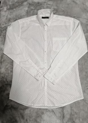 Стильная мужская рубашка primark р. м