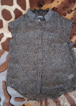 Блуза полупрозрачная asos