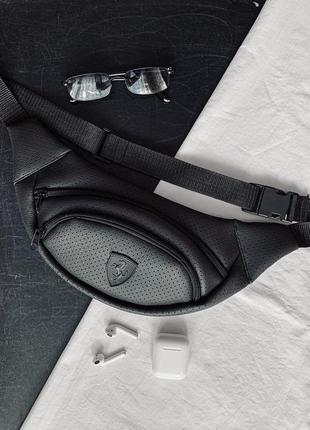 Новая стильная качественная бананка pu кожа , сумка на пояс/ через плечо / клатч