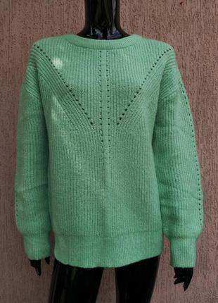 Яркий тёплый джемпер свитер пуловер george