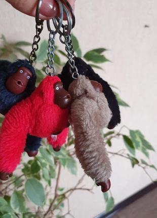 Брелок, брелоки, брелки kipling обезьянка davina, matt, bess, оригинал