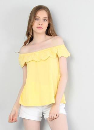 Блуза colin's з коротким рукавом