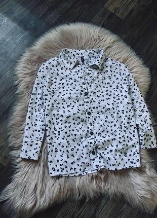 Распродажа до 4.08 красивая вискозная рубашка