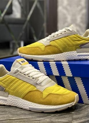 Кроссовки  adidas zx 500 bold gold