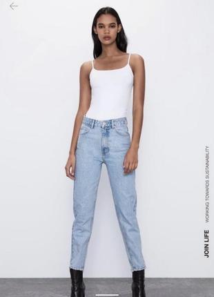 Zara джинсы мом, бойфренды, бананы, брюки