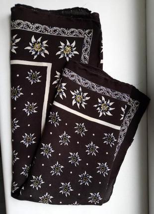 Платок шёлк шейный хустка шовк на шию