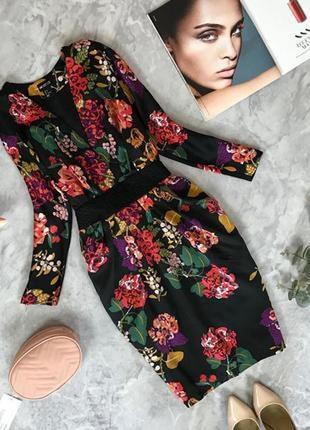 """Очень красивое платье с топом на """"запах"""" и юбкой """"тюльпаном""""  dr1916067 h&m"""
