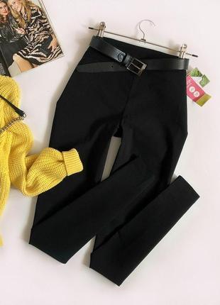Новые зауженные эластичные брюки george