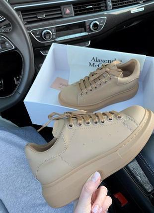 Шикарные кроссовки! alexander mcqueen !александр макквин! наложка6 фото