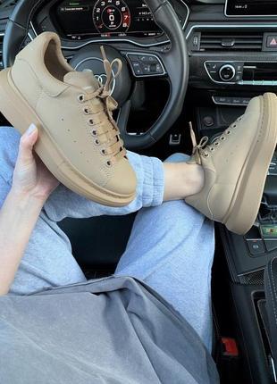 Шикарные кроссовки! alexander mcqueen !александр макквин! наложка8 фото
