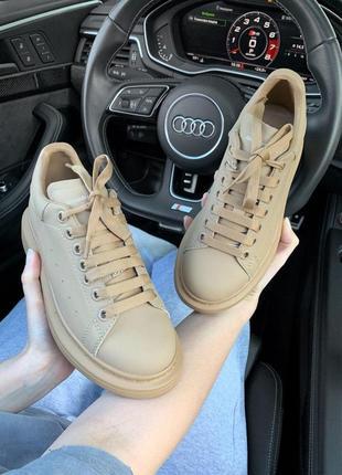 Шикарные кроссовки! alexander mcqueen !александр макквин! наложка9 фото