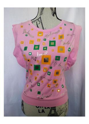 Женская розова футболка.новая