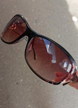 Стильные очки цветочки на оправе распродажа остатков витрины