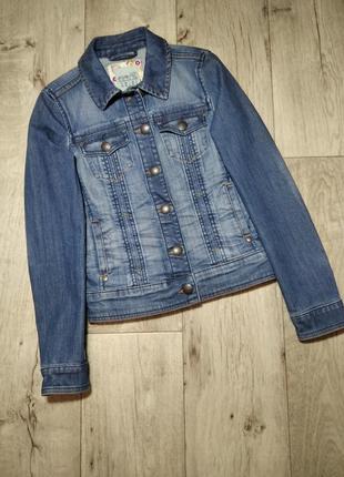 Джинсовая курточка, джинсовка esprit, германия, р. xs-s