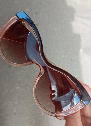 Стильные очки miu miu италия лисички кошки распродажа остатков витрины