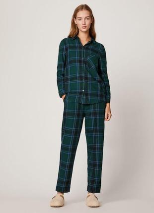 Новая пижама домашний костюм в клетку oysho2 фото