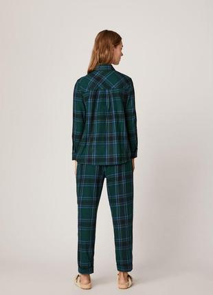 Новая пижама домашний костюм в клетку oysho4 фото