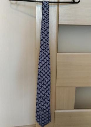 Шелковый галстук kenzo.
