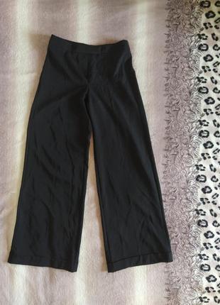 Широкие брюки с подворотом amaranto. доставка бесплатная!!!