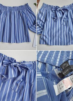 Роскошная блуза на плечи