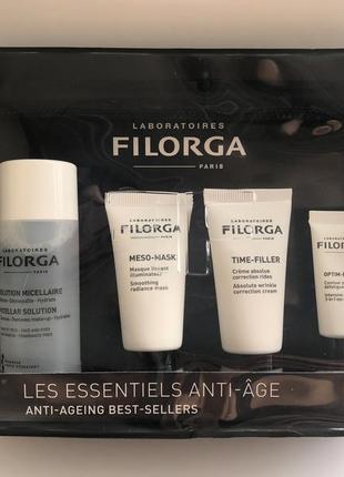 Filorga дорожный набор хит-продуктов антиэйдж 4 средства. франция