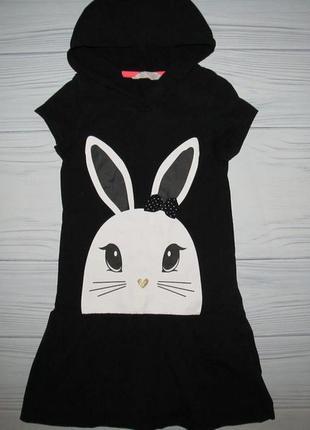 Платье с капюшоном 6-8 лет
