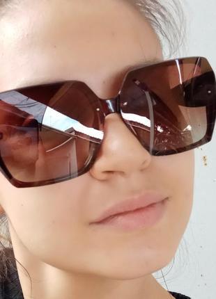 Стильные очки шестиугольники polarized распродажа остатков витрины