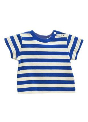 Детская футболка в полоску mini boden.код 729(6)
