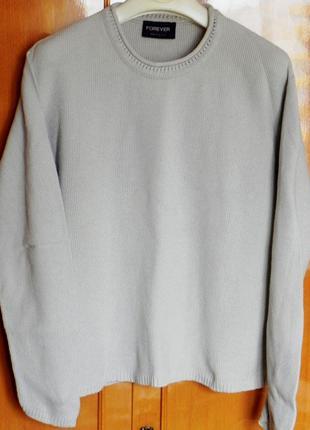 Нежный кaтоновый свитер forever (made in the u s a)