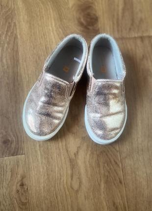 Слипоны туфли кеды 17см