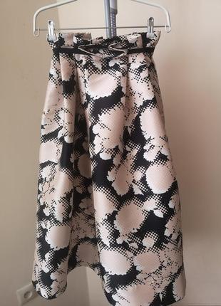 Нарядная юбка высокая талия andre tan xs-s(34-36)