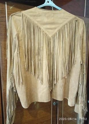 Куртка-кантри с бахромой