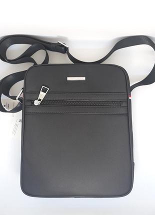 Мужская брендовая сумка. мужская сумка tommy hilfiger