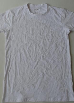 Базовая белая футболка м primark англия