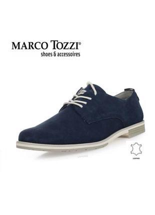 3542 туфлі marco tozzi 40 замш нові