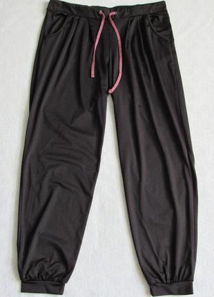Джоггеры спортивные широкие штаны женские раз.l от crivit