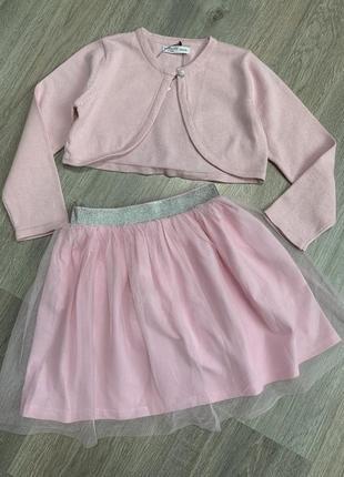 Скидка‼️комплект юбка фатиновая и болеро