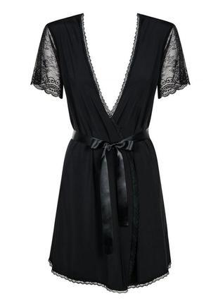 Сексуальныйкороткийхалат obsessive miamor robe