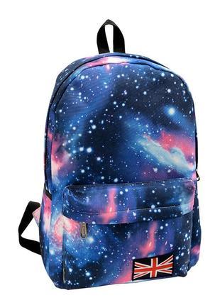 Новый стильный рюкзак галактика космос качественный