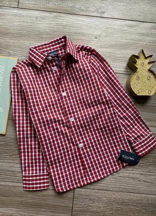 Рубашка новая nautica 3-4г