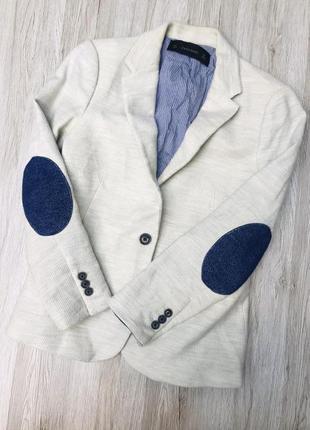 Пиджак casual, бренд zara