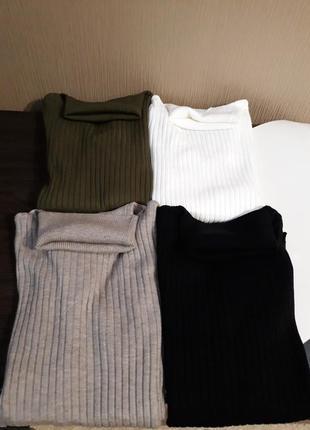 🌿крутые гольфы свитерки в рубчик британского бренда laetitia mem  расцветки